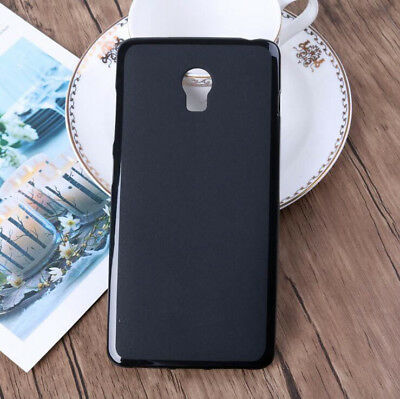 For Lenovo Vibe P1 Soft Black Matte TPU Gel Skin Case cover