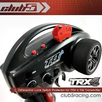 Differential Lock Switch Protector for TRX-4 TQi Transmitter