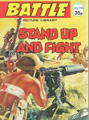 1989  No 198 38462 Battle  Picture Library  STAND UP AND FIGHT