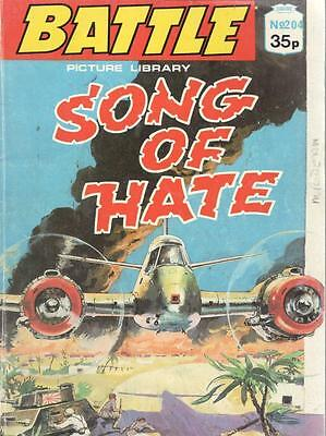 1989  No 204 38409  Battle  Picture Library  SONG OF HATE