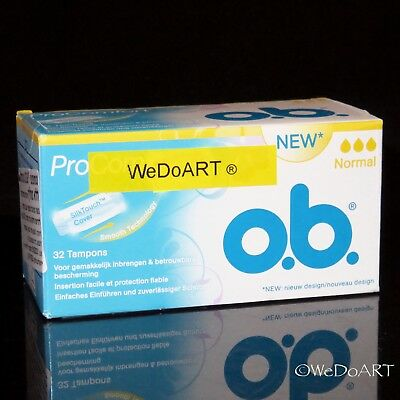 OB Pro Comfort Tampons - Brand New in Box, Normal - 32 Count