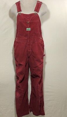 """Vintage Ely Corduroy Overalls  32"""" Waist 30"""" Inseam Some Spots as Pictured"""