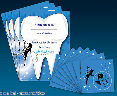 Tooth Fairy Gift Set ~ 8 Envelopes & 4 Certificates ~ Childrens Teeth Letter
