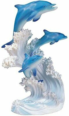 George S. Chen Imports SS-G-90085 Marine Life Three Dolphin Design Figurine...