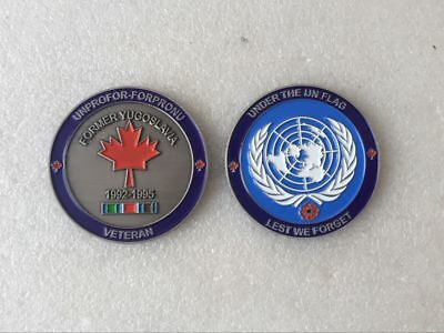 Canada United Nations Yugoslavia Collectible Challenge Coin