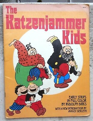 The Katzenjammer Kids 1974 early Strips in Full color by Rodolph Dirks english