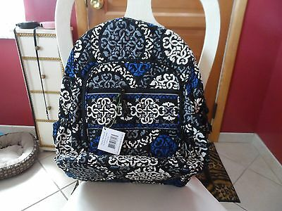 Vera Bradley Campus backpack  in Canteberry Cobalt NWT
