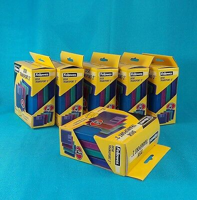Fellowes Floppy Disk Transport 24 Holders