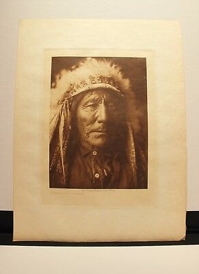 **THE REAL DEAL** VOLUME  ORIGINAL EDWARD CURTIS PHOTOGRAVURE Sioux Ogalala