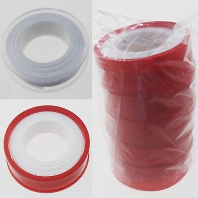 Roll Teflon Plumbing Fitting Thread Seal Tape For Water Pipe 1M Hot Sale x10