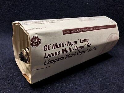 GE 43828 MVR400/U, 400W, E37, Clear Multi-Vapor Lamp with Same Day Shipping
