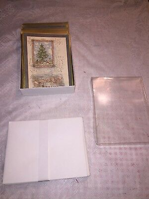 Marshall Field's Christmas cards, Ursula Arendt, Trees 25 cards