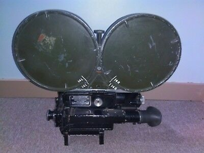 35mm wall newsreel movie camera 1940's motion picture