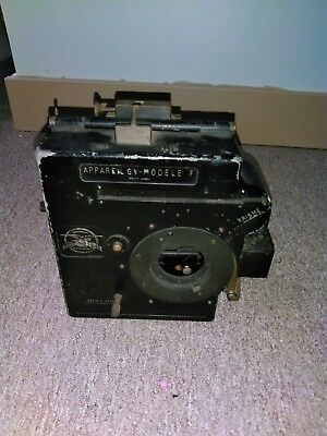 35mm 1920's debrie high speed movie camera silent motion picture