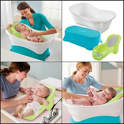Summer Infant Comfort Height Bath Tub for baby Newborn Safety Toddler free ship