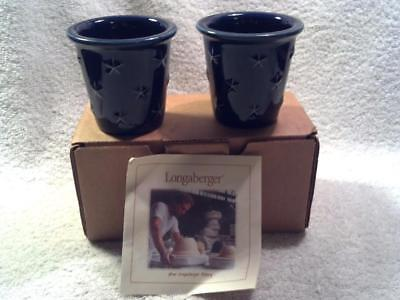 Longaberger Proudly American Votive, Set of 2 in Box. #30017