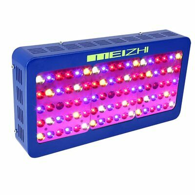 MEIZHI Reflector-Series 450W LED Grow Light Panel with Dual Switchable & Dais...