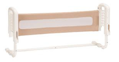 Safety 1st Top of Mattress Bed Rail with SecureTech, Cream