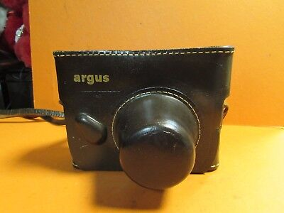 ARGUS Tan C3 Matchmatic RANGEFINDER CAMERA With 50mm Lens And Original Case