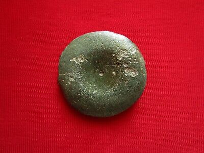 Museum quality Ancient Celtic bronze PHALERA  - warrior plate decoration. 300 BC