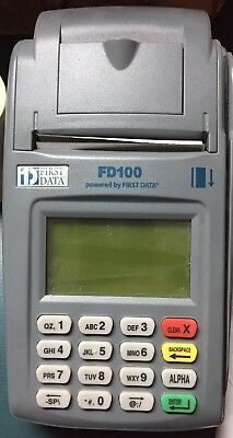 FIRST DATA FD100 Credit/Debit Card Terminal Power Supply Cord Preowned