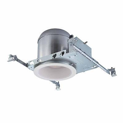 Commercial Electric 6 in White Recessed Lighting Housings and Trims (6-Pack)