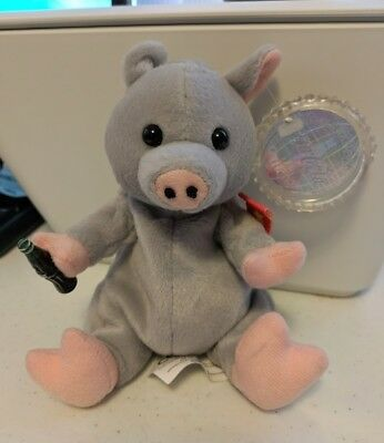 """1999 Coca-Cola Blubby The Pig Vietnam International Collection With Tags 8"""""""