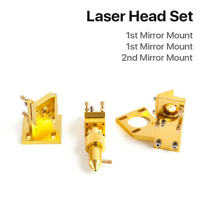 CO2 Laser Head Set for K40 2030 4060 Laser Engraving Cutting Machine Cloudray