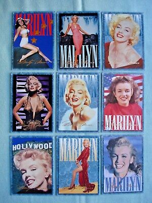 1993 Sports Time *marilyn Monroe Series 1* Complete 100 Card Base Set