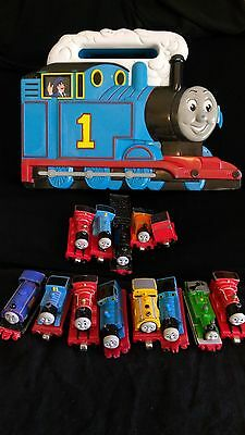 Lot of 13 Thomas and Friends Train Set in Carry Case