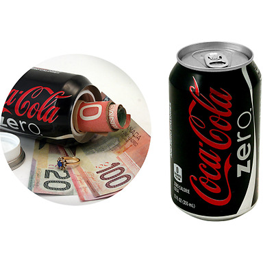 Soda Can Safe Zero Stash Hidden Compartment Diversion Safe Stealth Storage Coke