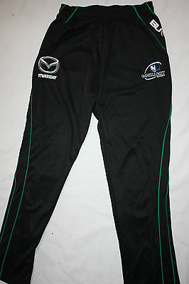 Rugby BLK Mens Connacht Training Pants with pockets, sizes L only