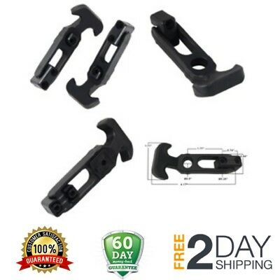 2 Pack Rubber T-handle Draw Latch Flexible Catch Hasp for Golf Cart or Tool Box