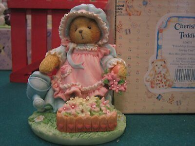 """Cherished Teddies """"Friendship Blooms with Loving Care"""""""