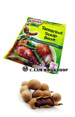 2packs X Knorr Tamarind Soup Base Tamarind Powder 40g