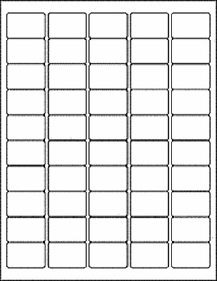 Blank Rectangle Labels, Small Plain White Rectangle, Color Your Own Stickers