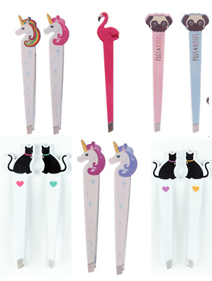 Flamingo Pug Cat Unicorn Tweezers Beauty Hair Removal Present Stocking Filler