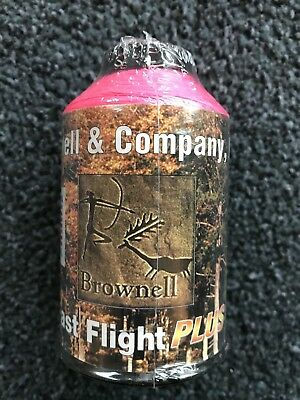 Brownell Sehnengarn Fast Flight Plus pink rosa Bogensehne Bogensport 1/4 lbs