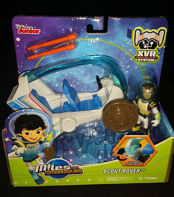 DISNEY JUNIOR MILES FROM TOMORROWLAND SCOUT ROVER LAUNCH FLASH BEAMS  GIFT