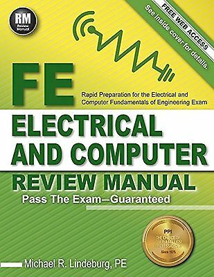 Fe Electrical and Computer Review Manual by Michael Lindeburg Pe 9781591264491