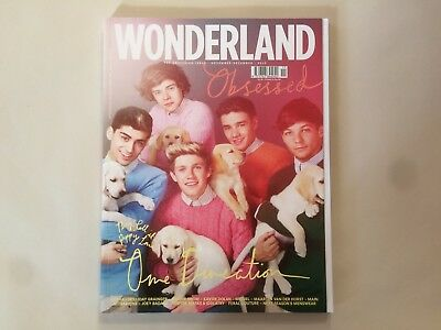 Wonderland Magazine November/December 2012 One Direction Harry Styles Zayn Niall