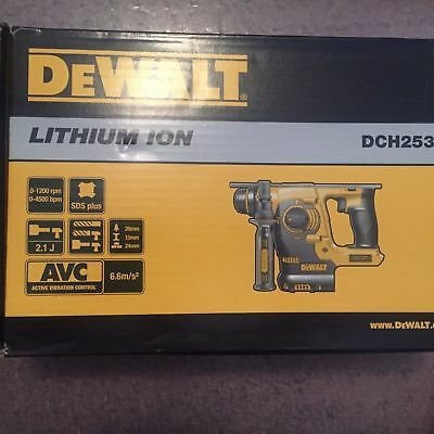 DEWALT DCH253B 20V Max SDS 3 Mode Rotary Hammer Tool Only, No Batery