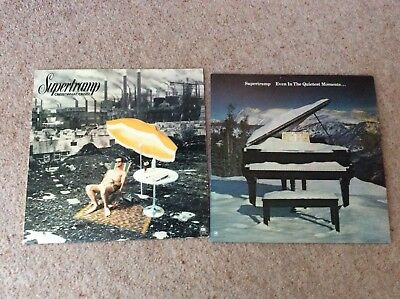 SUPERTRAMP 2 LP,s VINYL  JOB LOT  A ' M Records