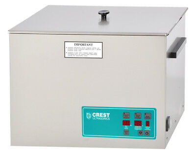Crest CP1800D 5.25 Gal Digital Ultrasonic Cleaner, Heat+Timer+Degassing, 2Yr War