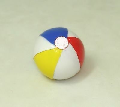 Dollhouse Miniature By Barb Artisan Beach Ball 1:12 Scale Doll House Miniature