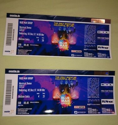blue man group Tickets 02.12.2017