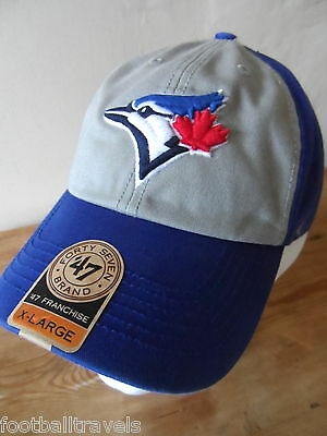 BLUE JAYS Toronto '47 BRAND Official CAP CASQUETTE TUQUE Hat baseball Tags Blue