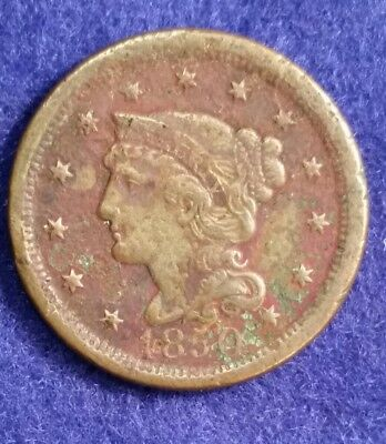1850 Large Cent - FN