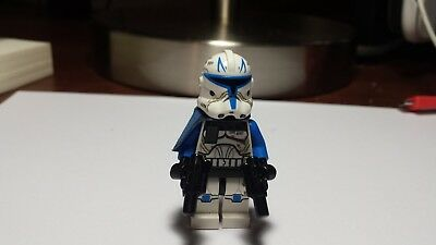 Lego Star Wars Clone Wars Captain Rex With Blasters Minifigure