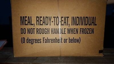 MRE, Meal ready to eat, US-Army,Notfallration,Tagesration,outdoor,